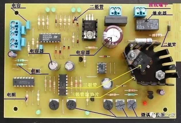 【图解】教你认识电路板上的电子元件